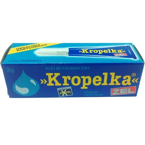 Клей ``Kropelka-ZEL`` 2ml` KING 33193 KING   1428357